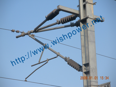 Arm insulator used in Wenfu line project
